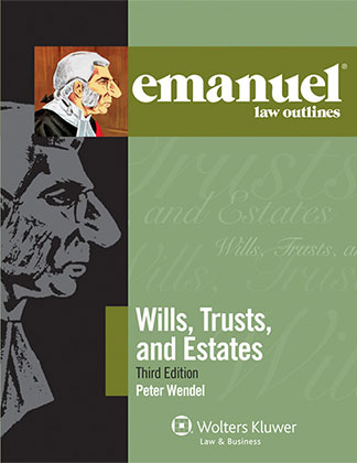 "Image of the study aid ""Emanuel Law Outlines: Wills, Trusts, and Estates"""