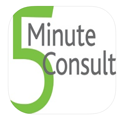 5 Minute Clinical Consult App Icon