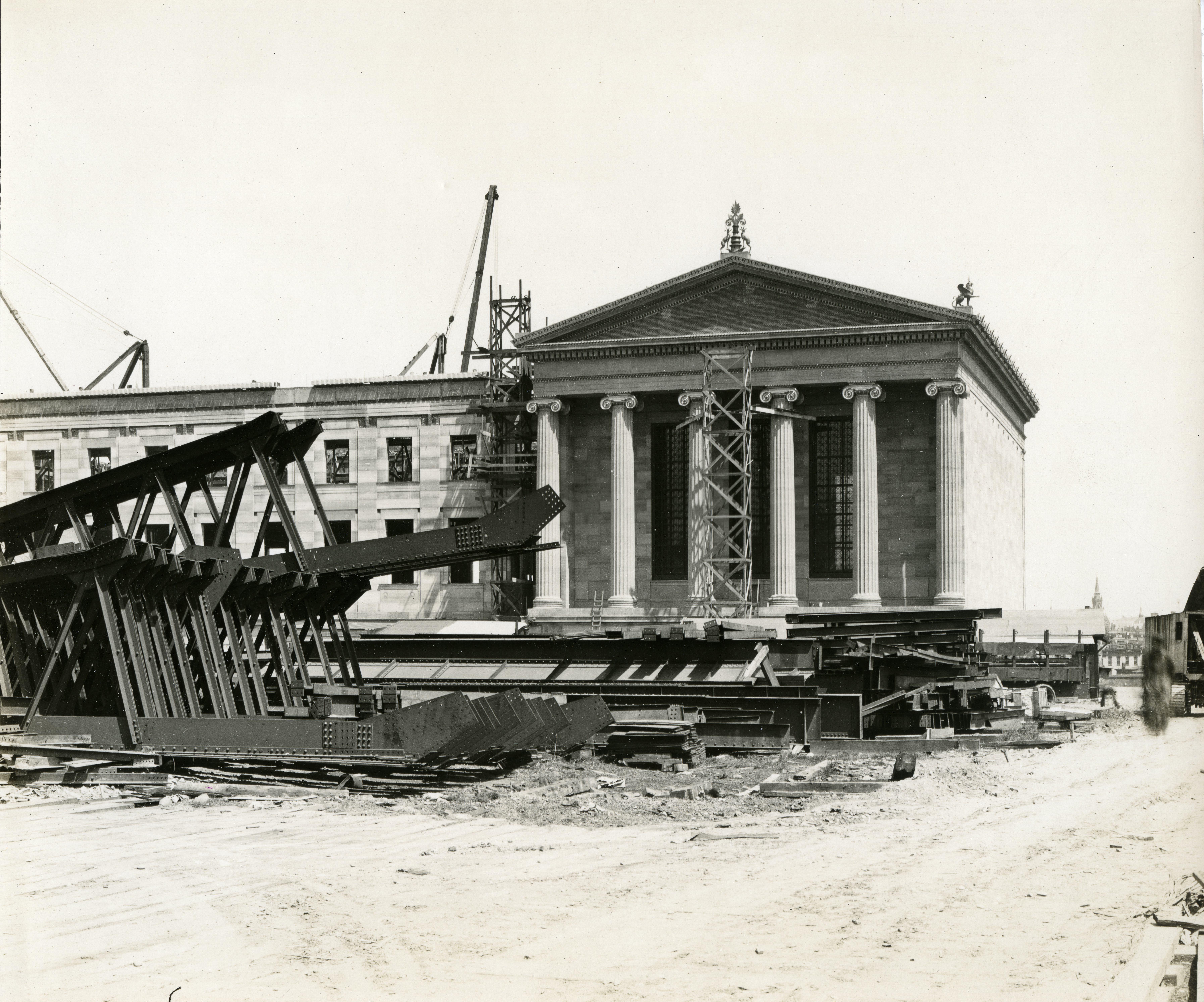 Museum under construction.