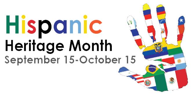 Hispanic Heritage Month poster