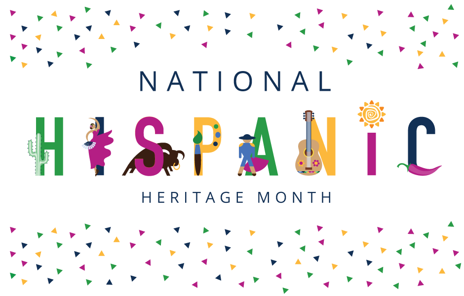 National Hispanic Heritage Month poster