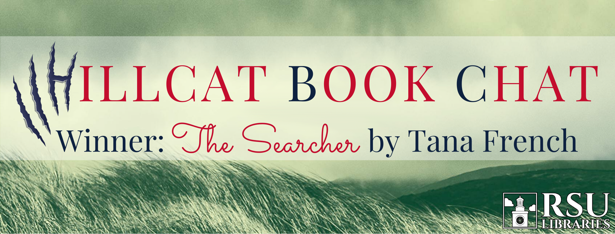 Hillcat Book Chat winner is The Searcher by Tana French.