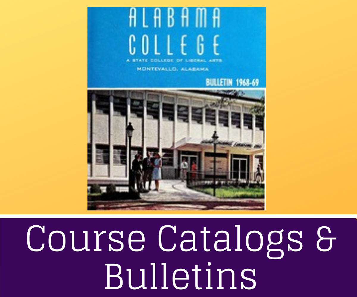 Course Catalogs and Bulletins