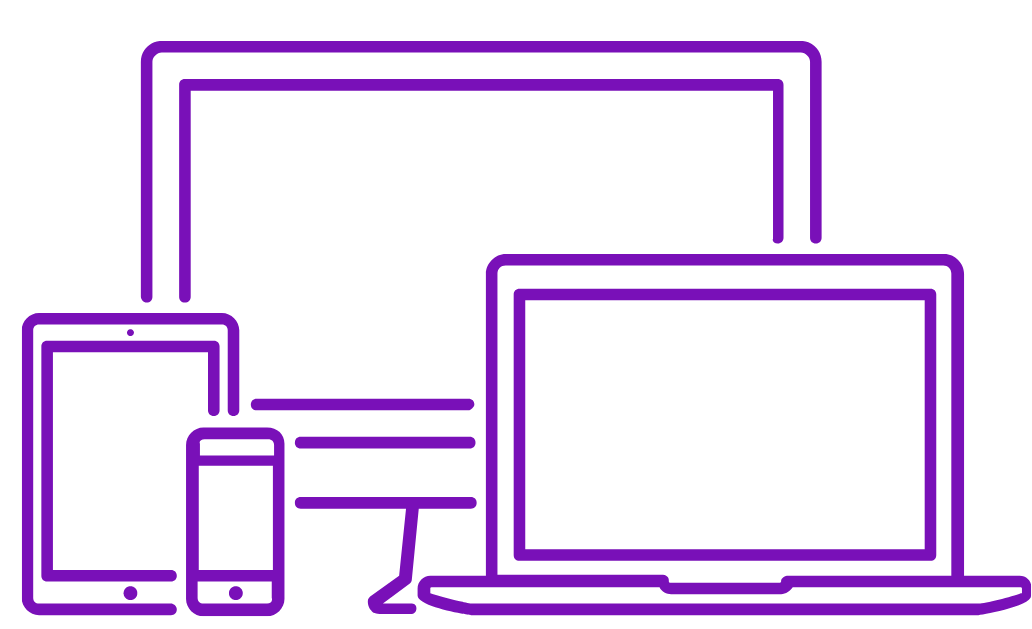 image of computers and devices