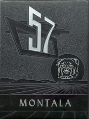Montala Year 1957 Yearbook Cover Image