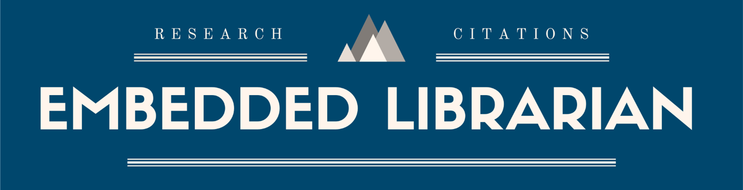 Research, Citations, Embedded Librarian