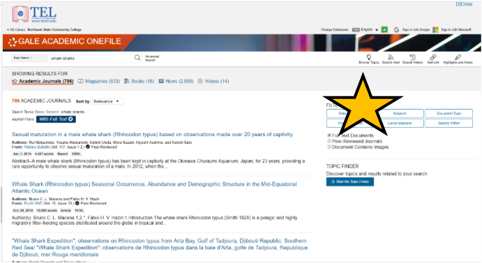 Subjects are located in the toolbar on the left side of the page.
