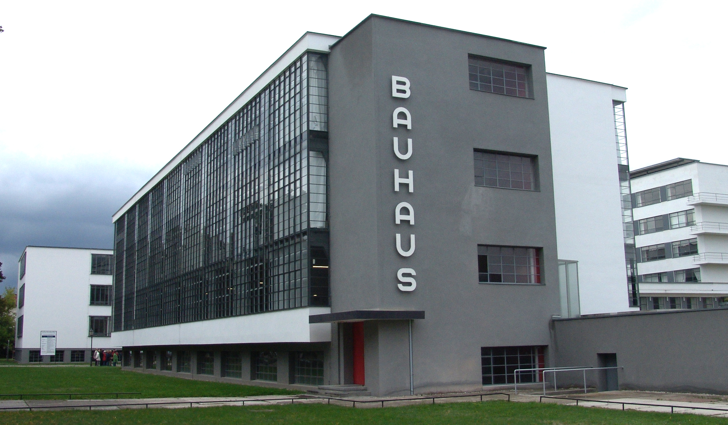 The Bauhaus, Dessau, Germany, designed by Walter Gropius (1925-26)