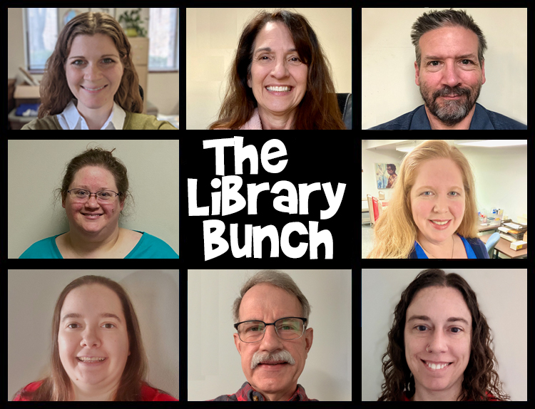 The McFarlin Library Bunch Staff Picture