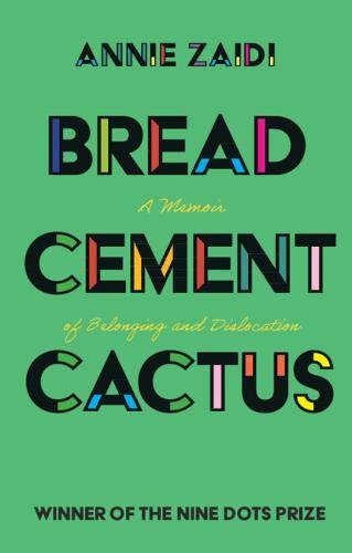 bread cement cactus by zaidi cover art