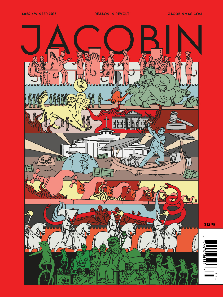 Jacobin magazine cover