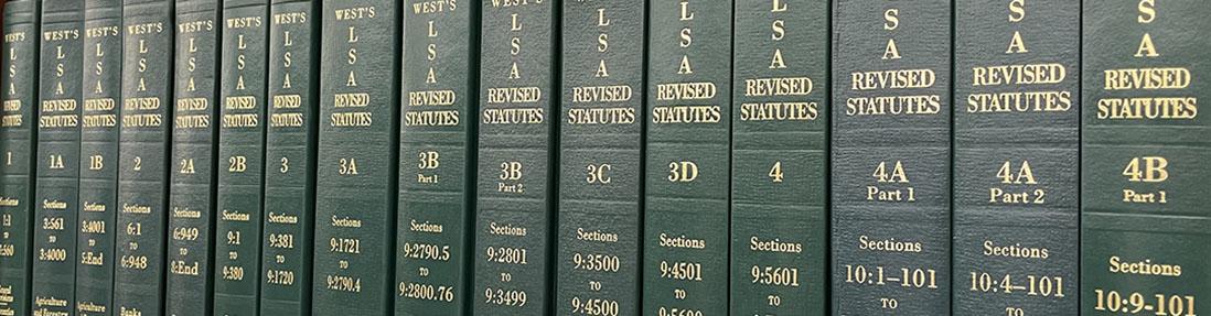 Image of Louisiana Statutes Annotated (