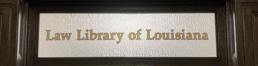Image of the library's name