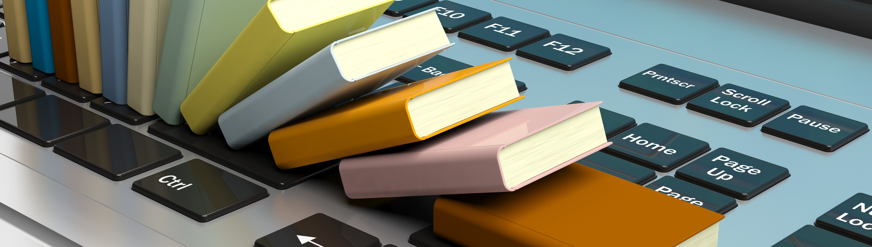 Books on Keyboard
