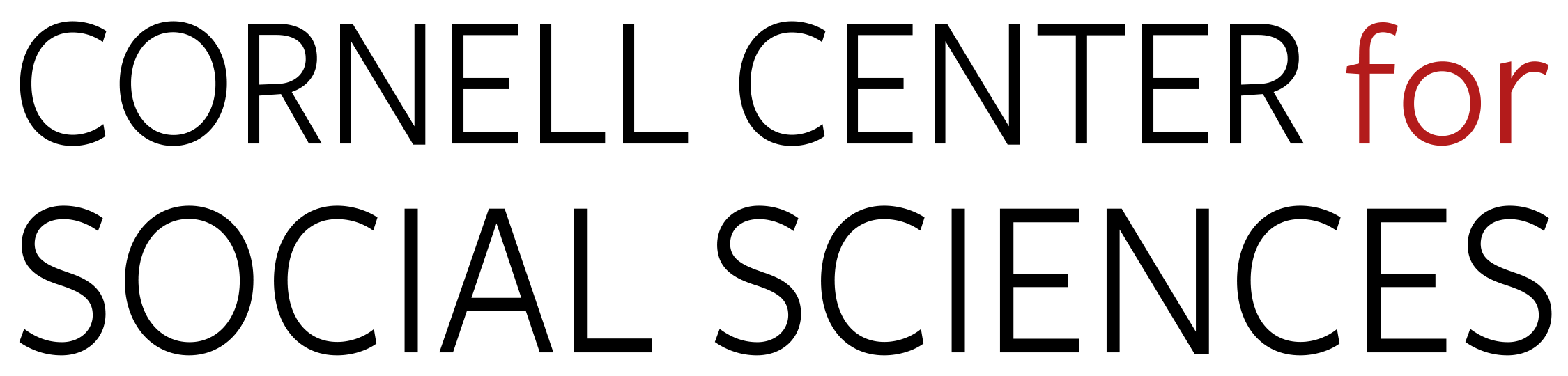 Cornell Center for Social Sciences Logo