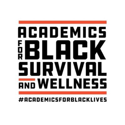 Academics for Black Survival and Wellness logo