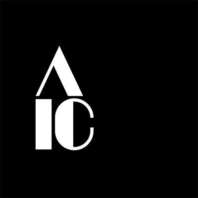 American Institute for Conservation black square with white letters 'AIC' logo