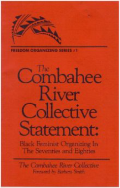 Combahee River Collection Statement cover page