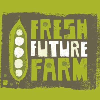 Fresh Future Farm peas in a pod logo