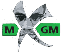 Malcolm X Grassroots Movement Malcolm X's face in the shape of an X logo