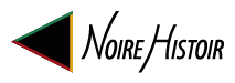 Noire Histoir left facing triangle logo