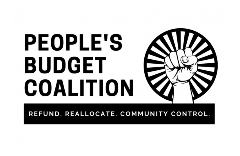 Charleston People's Budget fist logo