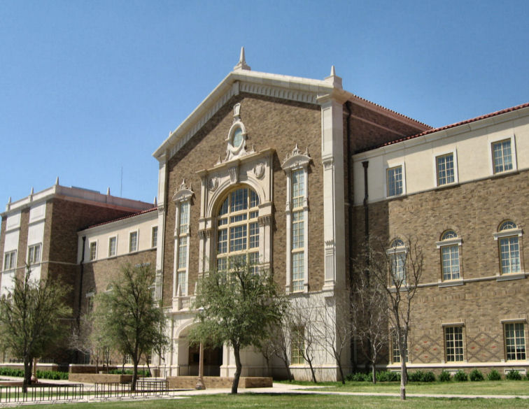 College of Education Building at Texas Tech University