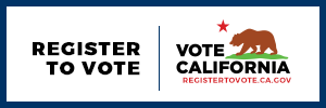 Register to vote vote California image and link