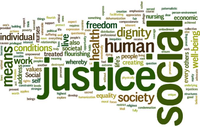 social justice bookmark logo