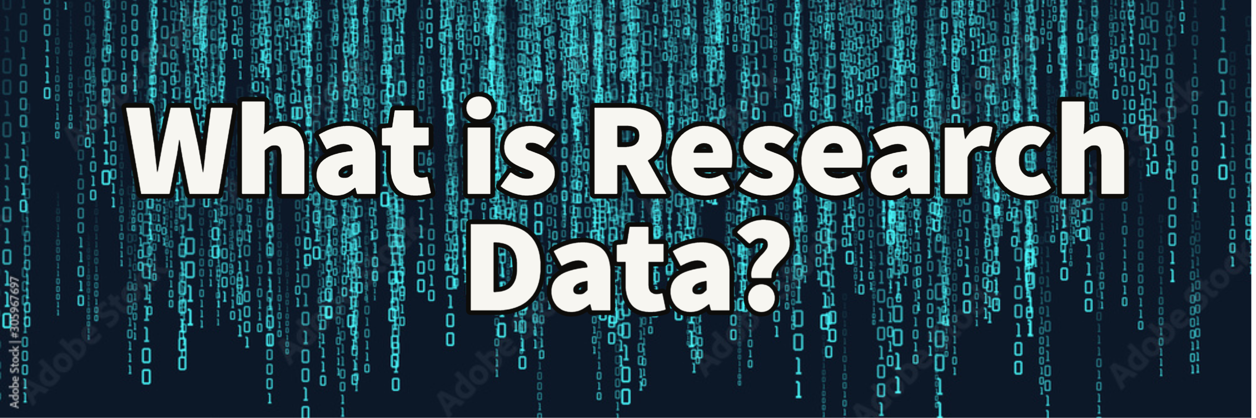 what is research data?