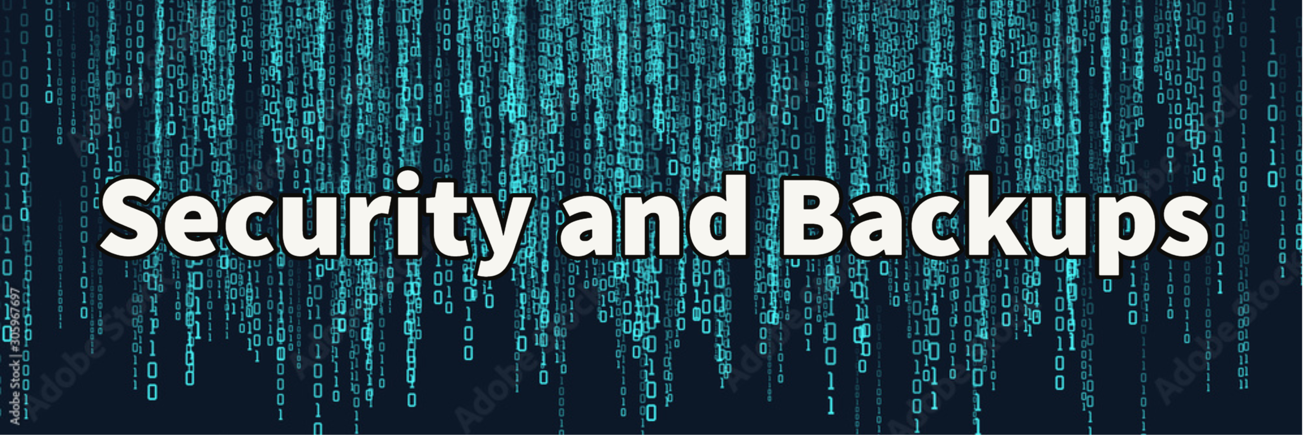 security and backups