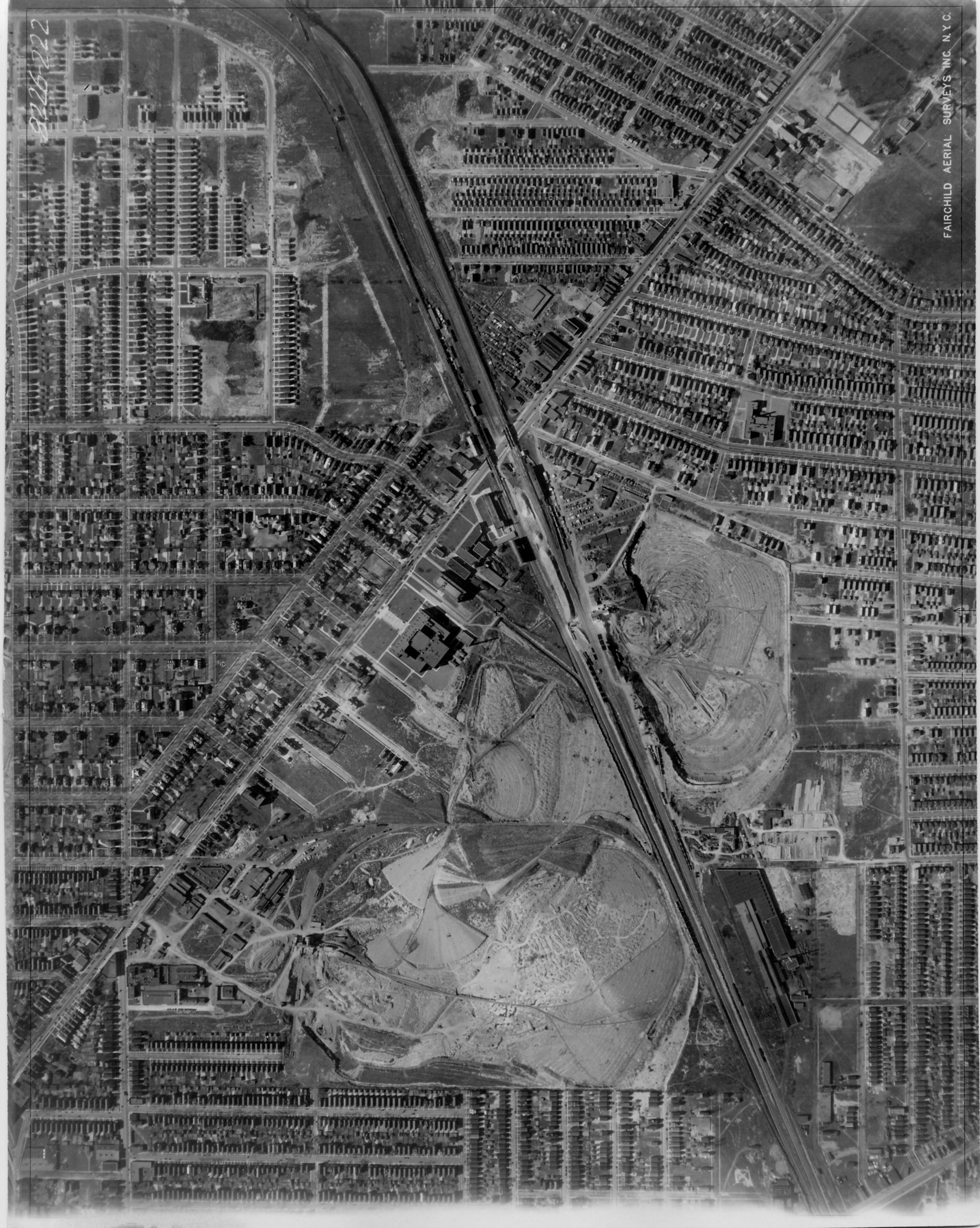 1927 aerial photo UB South University District