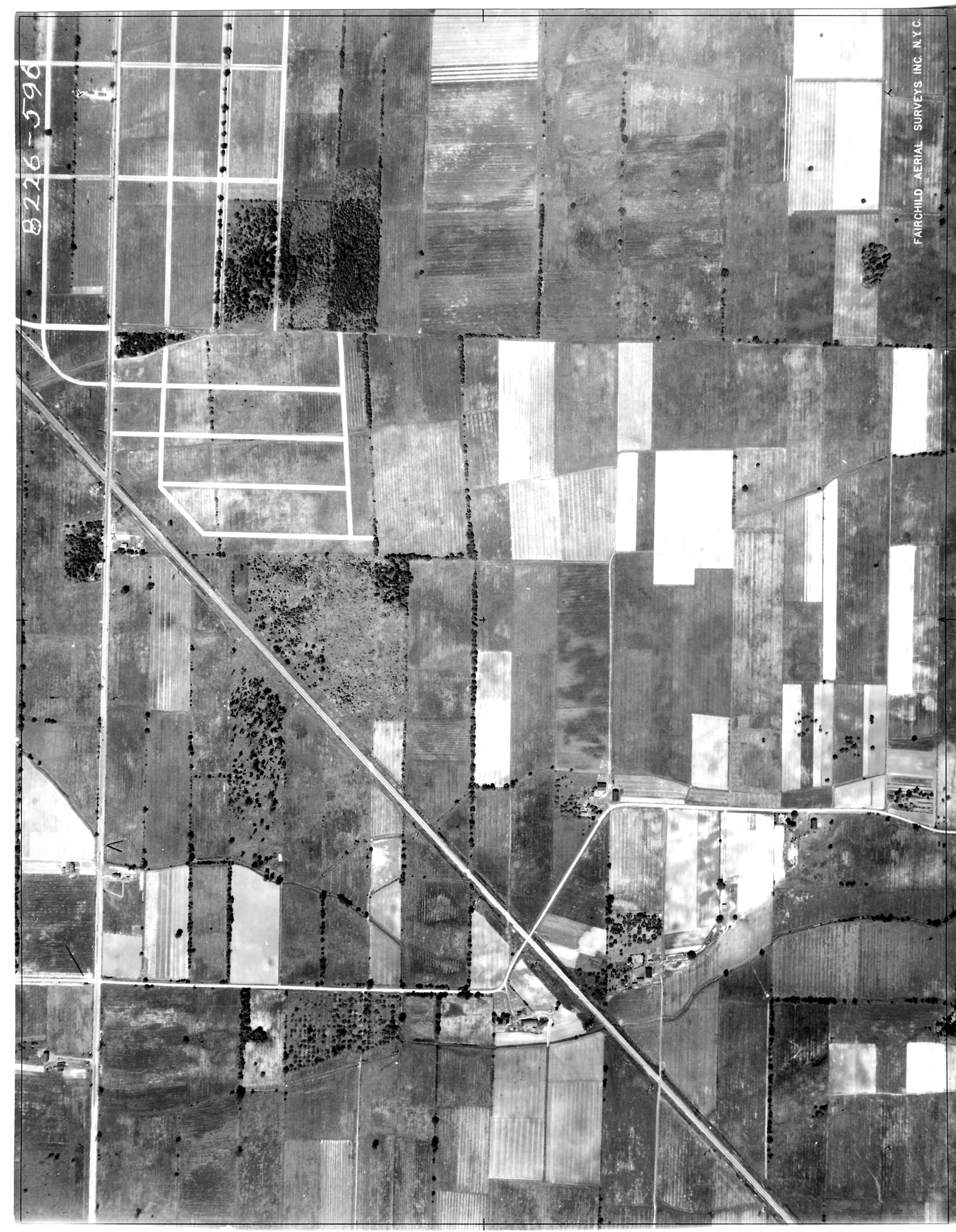 1927 Aerial Photo Showing UB North