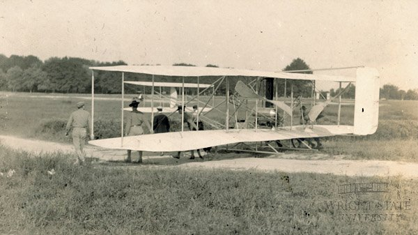 image of a Wright Flyer