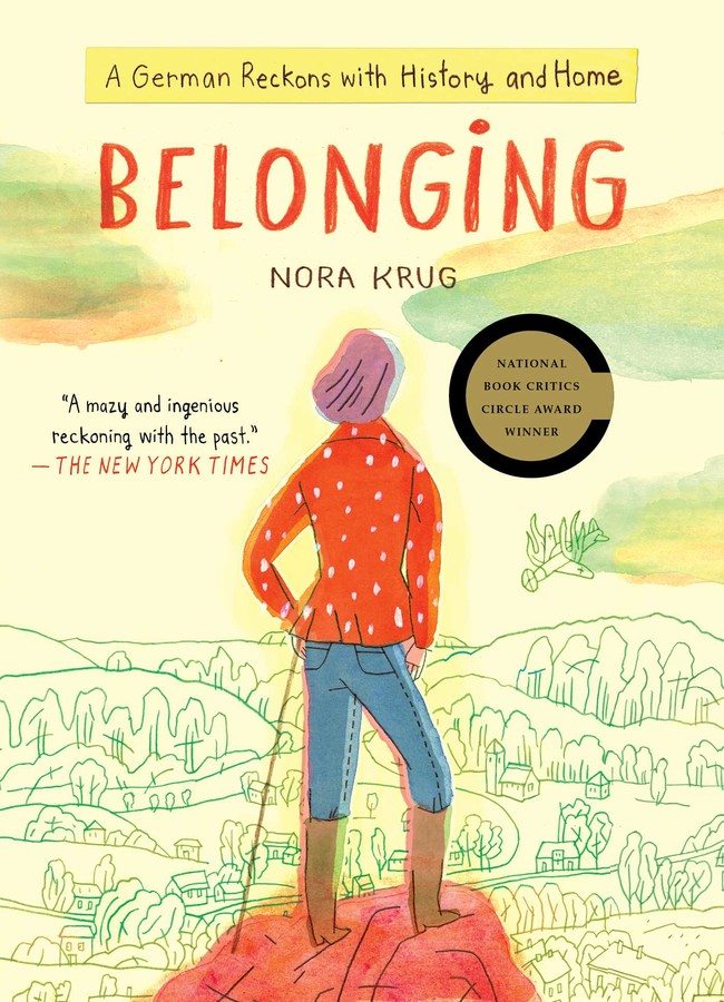 Cover of the book, Belonging, by Nora Krug