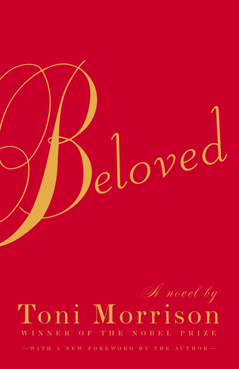 Book cover for Beloved, by Toni Morrison