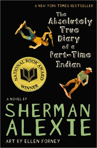 Book cover for The Absolutely True Diary of a Part-Time Indian by Sherman Alexie