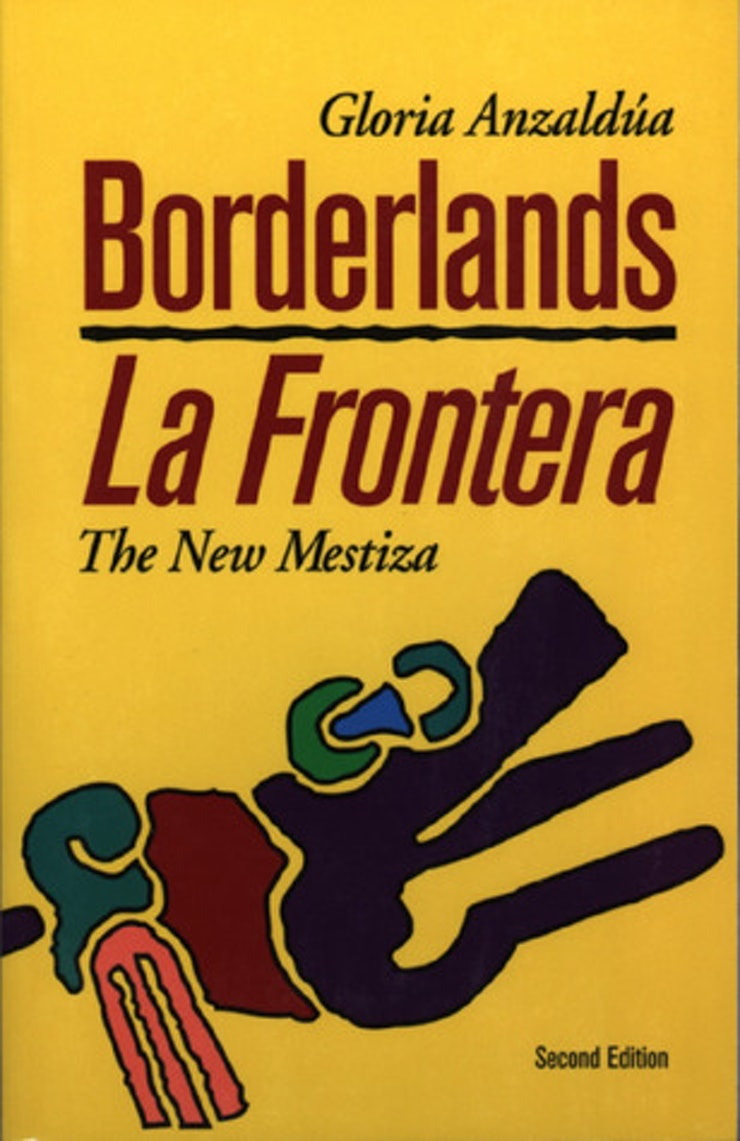 Book cover for Borderlands/La Frontera: The New Mestiza by Gloria E. Anzaldúa