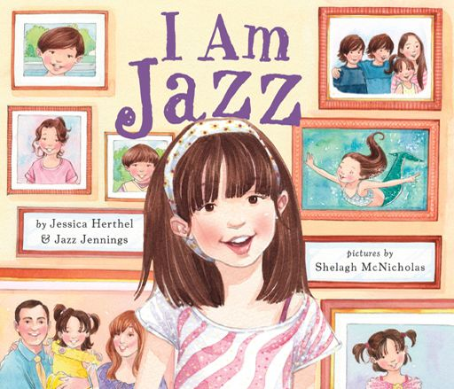 Book cover for I am Jazz by Jessica Herthel and Jazz Jennings