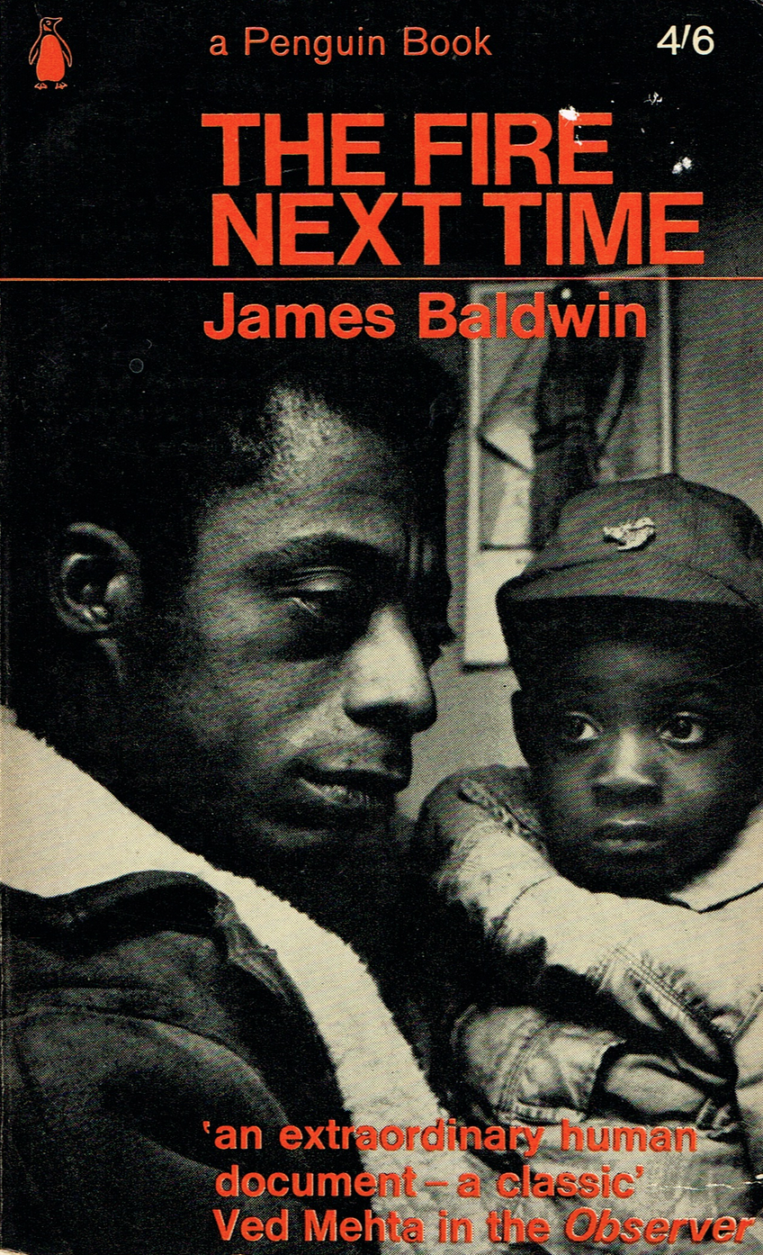 Book cover for The Fire Next Time by James Baldwin
