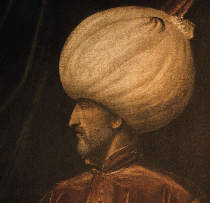 Portrait of Suleyman the Magnificent