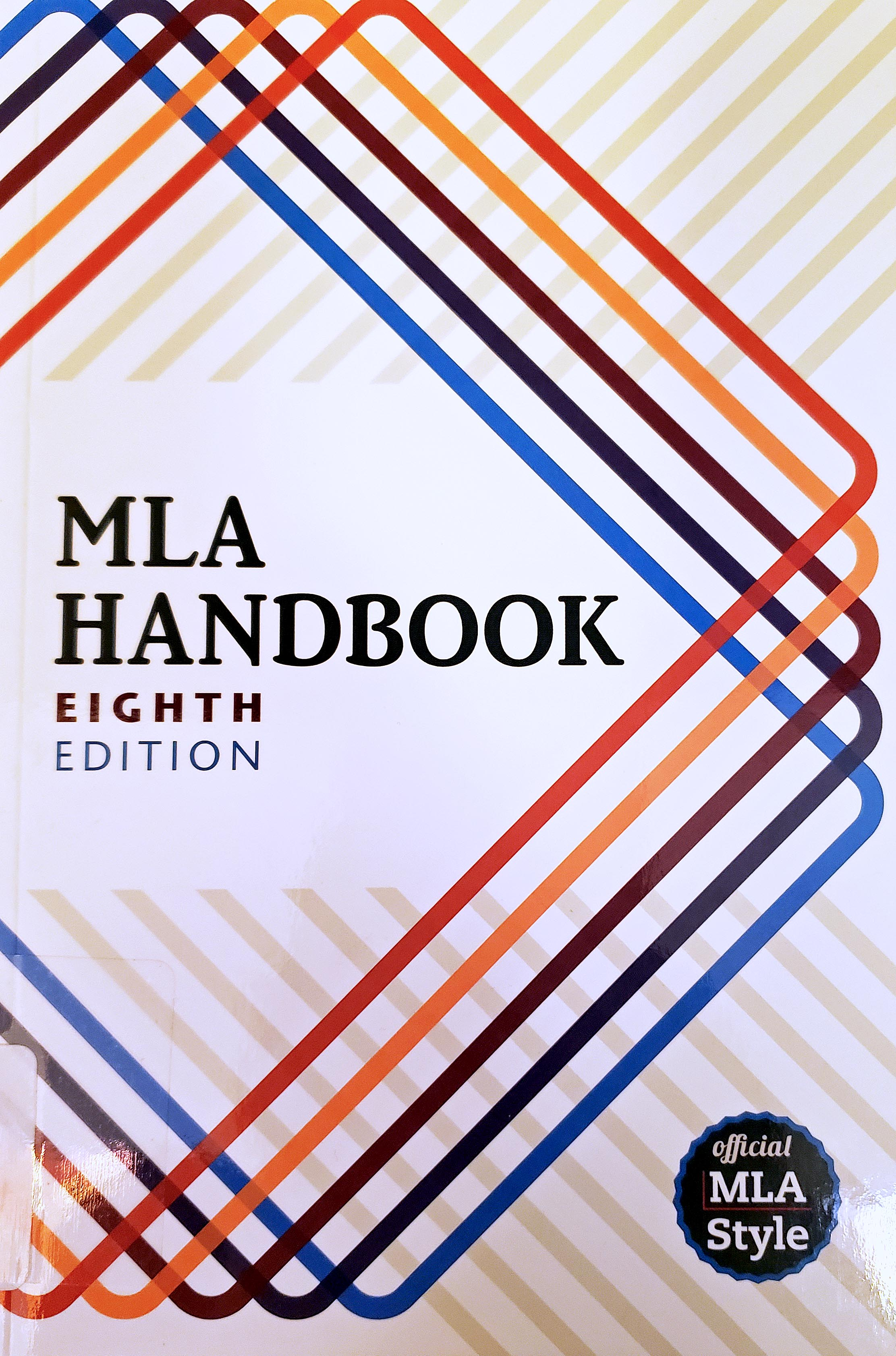 Picture MLA Handbook 8th Edition