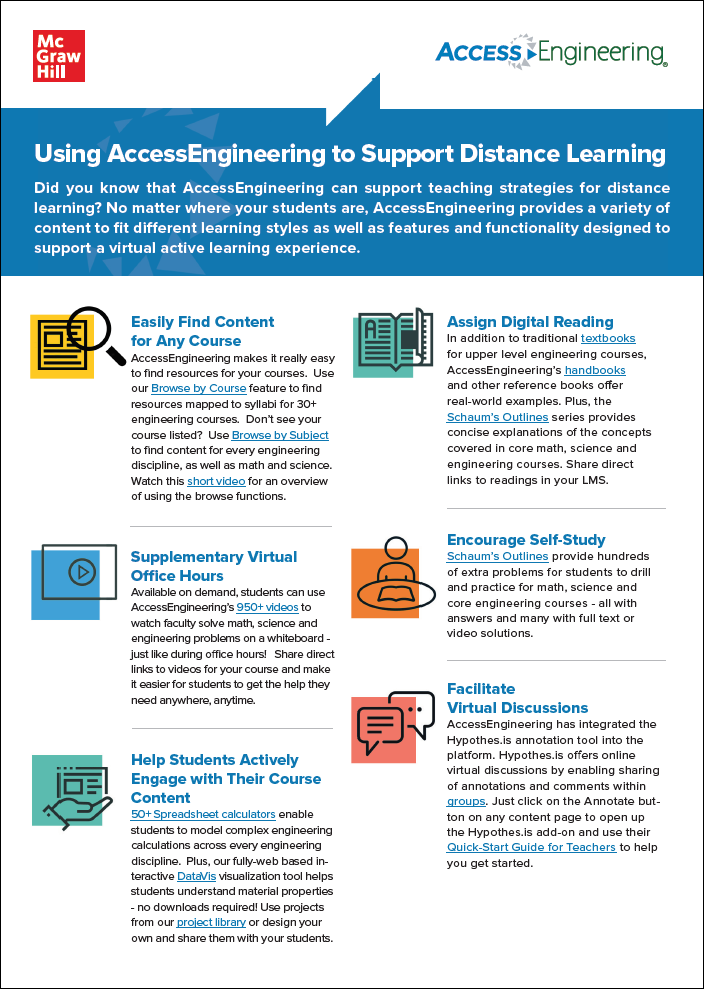 Thumbnail image of distance learning flyer