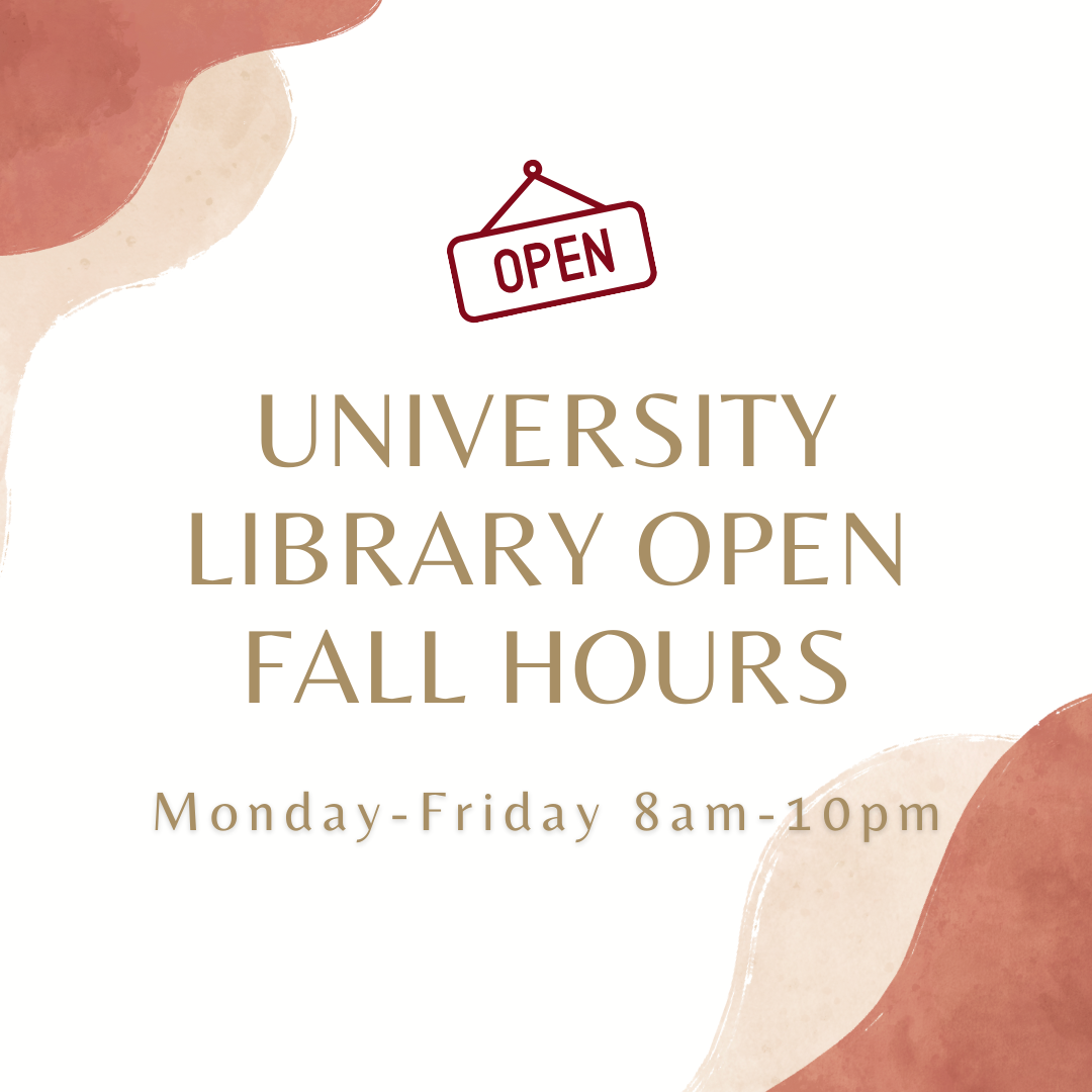 Main library hours
