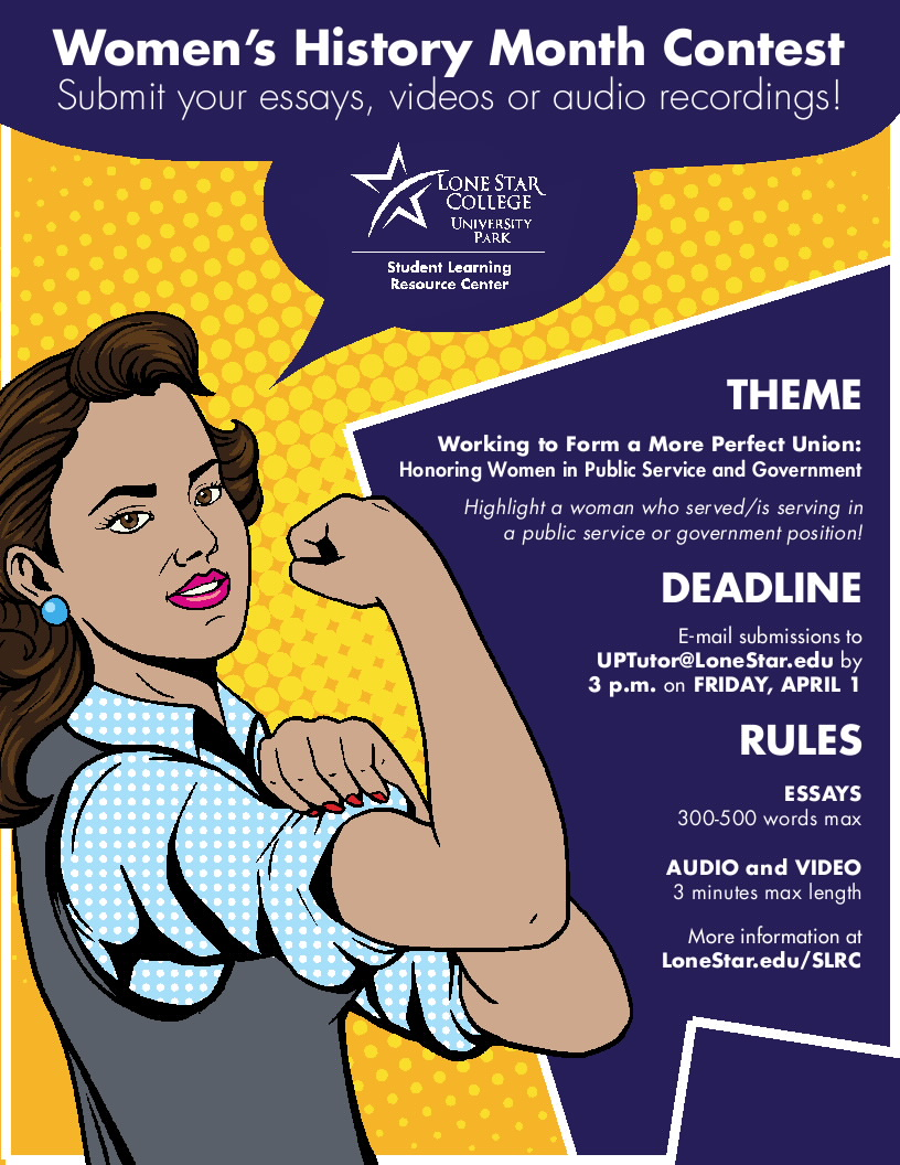 Image of 2016 Women's History Month Contest