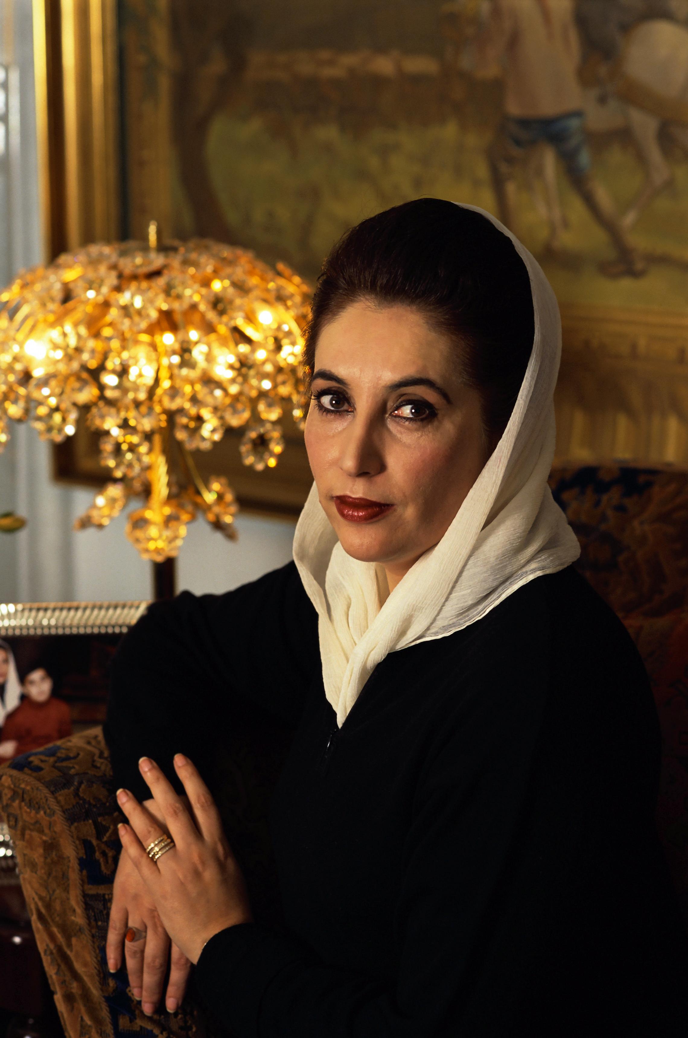 Image of Benazir Bhutto