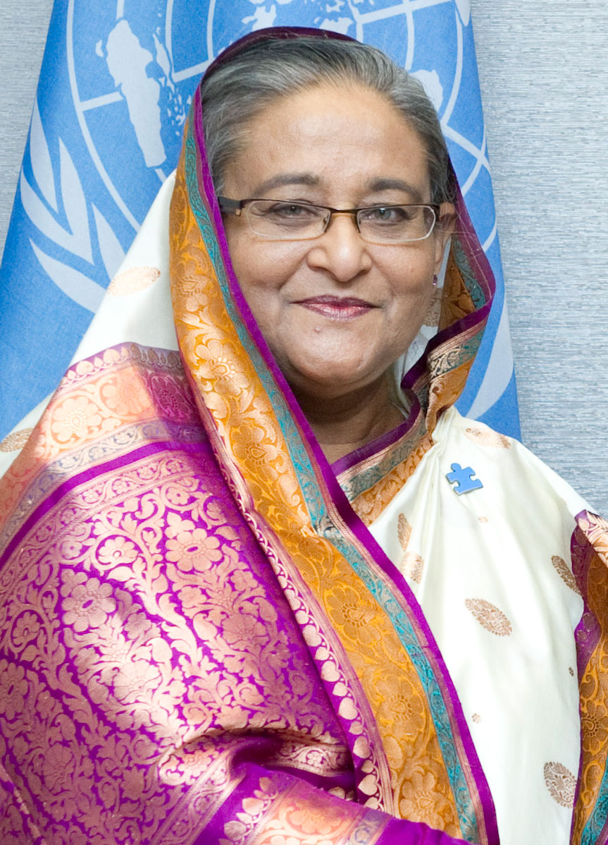 Image of Sheikh Hasina