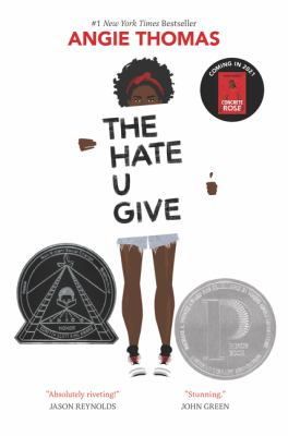Cover art for The hate u give