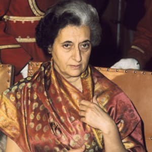 Image of Indira Gandhi
