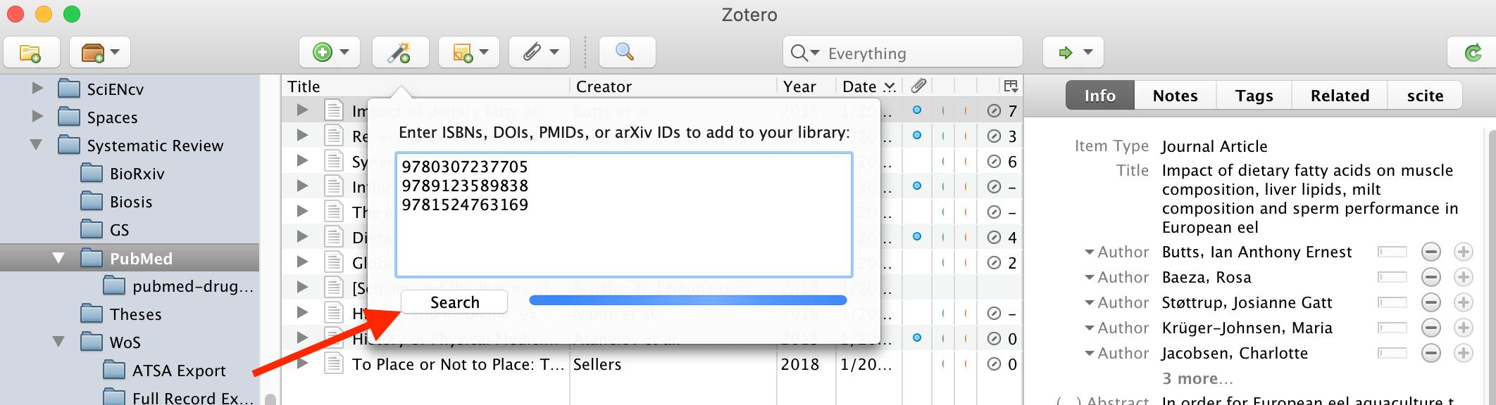 Add list visual example